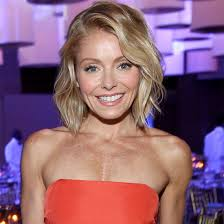 kelly ripa hair style kelly ripa is now rocking another rainbow hair color brit co