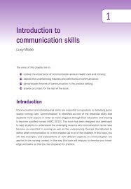 How Theory Underpins Counselling Skills And Techniques And Attitudes Introduction To Communication Skills Pdf Available