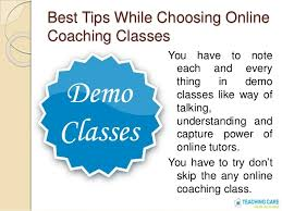 tips class online tips for online coaching classes and online tutors