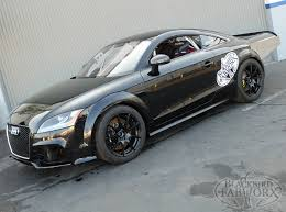 audi tt rs build for allthespeed 1 2 mile mile drag car
