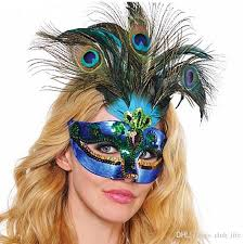 peacock masquerade mask party mask woman masquerade masks luxury peacock feathers