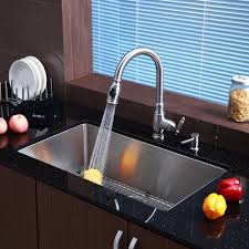 kitchen sink and faucet sets stainless steel kitchen sink combination kraususa com