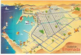 Baja Mexico Map by Baja California Mexico U2013 Moonlight Transportation