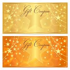 Holiday Gift Card Template Gift Certificate Stock Vectors Royalty Free Gift Certificate