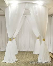 White Drape Fabric Background U0026 Backdrops Pipe N Drape Wedding Pipe And