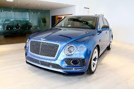 bentley blue color 2017 bentley bentayga w12 signature stock 7nc015473 for sale