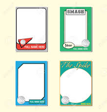 baseball card template eliolera com