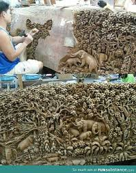 ok i m impressed 40 photos wood carving woods and woodcarving