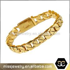 hand chains bracelet images New gold chain design for men gold cuban link chains bracelet hand jpg
