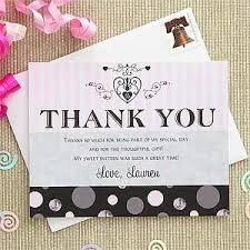 thank you card unique sweet 16 thank you cards sweet 16 thank you