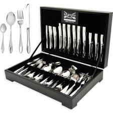 Wilkinson Kitchen Knives Wilkinson Sword 112pc Cutlery Set Canteen Teardrop R 3750