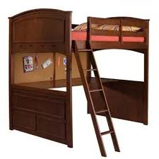 full size bunk beds with desk full loft beds