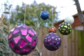 mosaic ornaments tutorial things to make and do crafts and