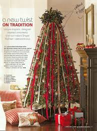christmas tree ribbon decoration ideas
