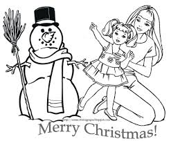 barbie christmas coloring pages qlyview com