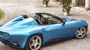 2016 alfa romeo disco volante spyder carrozzeria touring youtube