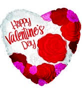 big valentines day 17 happy s day big roses foil balloon olina flowers gifts