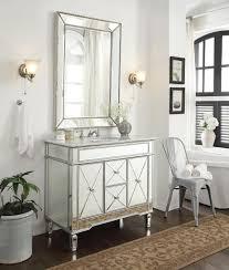 White Bathroom Vanity Cabinet Adelina 44 Inch Mirrored Bathroom Vanity Cabinet Fully Assembled