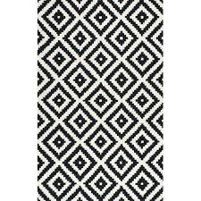 Tufted Area Rug Black And White Rugs Black Tufted Area Rug 5 X 8 Black White