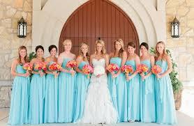 wear blue bridesmaid dresses for winter weddings evening
