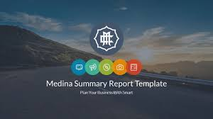summary report template summary report template by berowalt graphicriver image summary report powerpoint template slide1