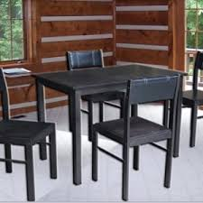 furniture kitchen tables rayven 4 seater dining table set