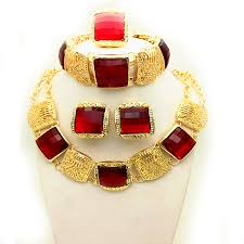 bridal gold set online get cheap bridal necklace set gold aliexpress