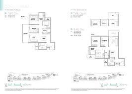 Singapore Floor Plan Kingsford Waterbay 3 Bedroom Floorplan