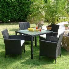 tavoli da giardino rattan set da giardino tavolo 4 sedie in rattan a bologna kijiji