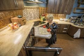 universal design kitchen cabinets universal design kitchen remodel renews foodie s joy of cooking