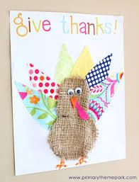 turkey crafts primary theme park