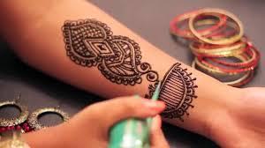 simple and beautiful mehndi design for bridal