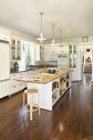 Kitchen Island Countertop Overhang Island Overhang Kitchen Contemporary With Flat Top Stove Stainless