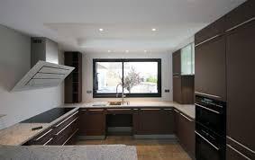 marron cuisine cuisine contemporaine meubles marron gris amt photo n 52