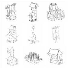 thumbnail sketches for isometric buildings for my minor p u2026 flickr