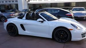 porsche boxster 2015 black 2013 porsche boxster pdk white black full leather now available