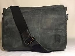 navali mainstay distressed rugged leather messenger bag shoulder