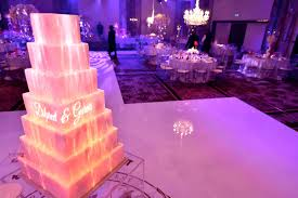 3d wedding cake projection