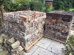 1150 handmade ornamental bricks handcled clay in wrenthorpe
