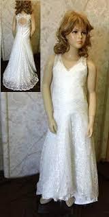 ivory flower dresses