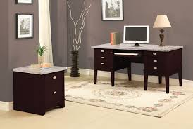 Modern Espresso Desk Modern Espresso Desk And Chair Greenville Home Trend A Frame