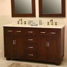 60 Double Sink Bathroom Vanity Reviews B U0026i Direct Imports Bolton 60