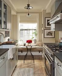 Ideas For Small Galley Kitchens Small Galley Kitchen Design Ideas With White Cabinet Also Granite