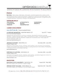 Front End Ui Developer Resume Marvelous Design Inspiration How To End A Resume 4 Ux Designer And
