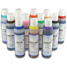 edible airbrush paint and colors for cake food decorating