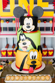 and friends cake kara s party ideas mickey friends birthday party kara s party