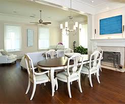 Dining Room With Ceiling Fan by Dining Room Bright Light Design Center