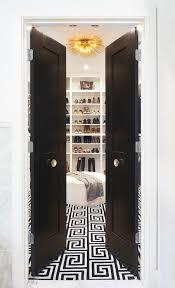 Closet Door Knob Black Bi Fold Closet Doors With Gold Door Knobs Contemporary