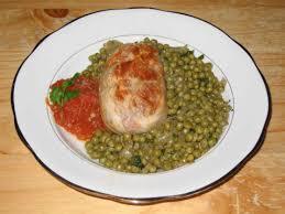 cuisiner des petits pois recette paupiette de veau avec des tomates et des petits pois 750g