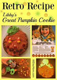libby u0027s great pumpkin cookie recipe 1980s magazine ad